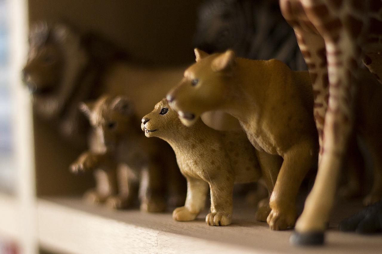 Schleich dierenfiguren, voor levensecht dierenspeelgoed